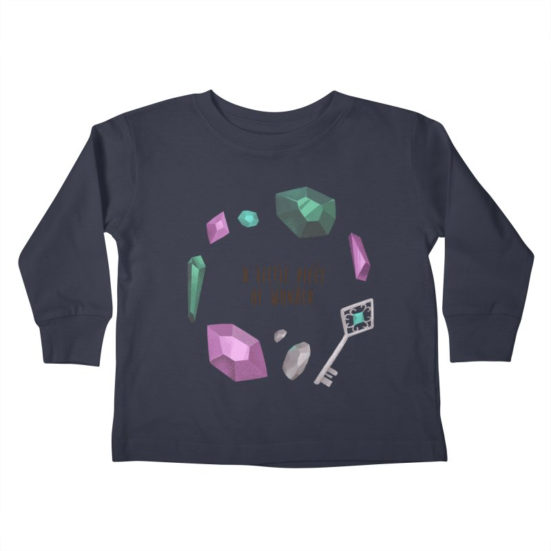 A Little Piece Of Wonder Kids Toddler Longsleeve T-Shirt by Mountain View Co