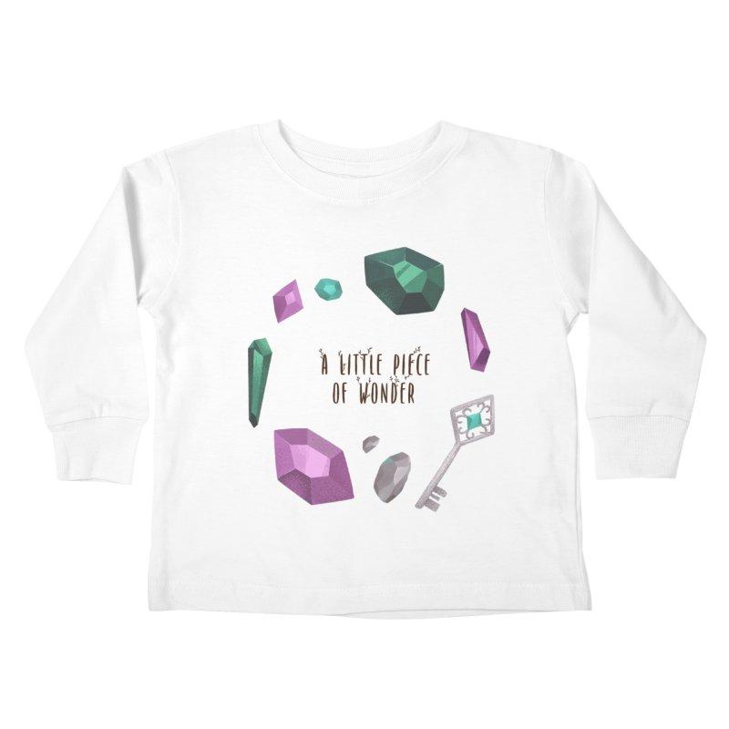 A Little Piece Of Wonder Kids Toddler Longsleeve T-Shirt by Mountain View Co