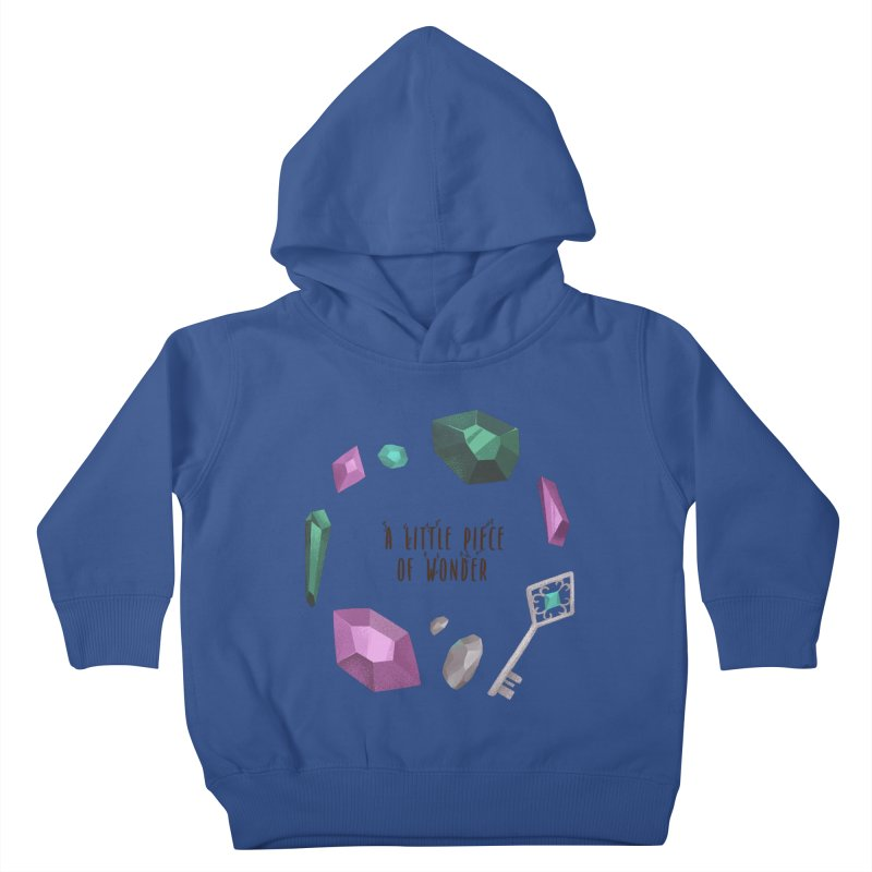 A Little Piece Of Wonder Kids Toddler Pullover Hoody by Mountain View Co