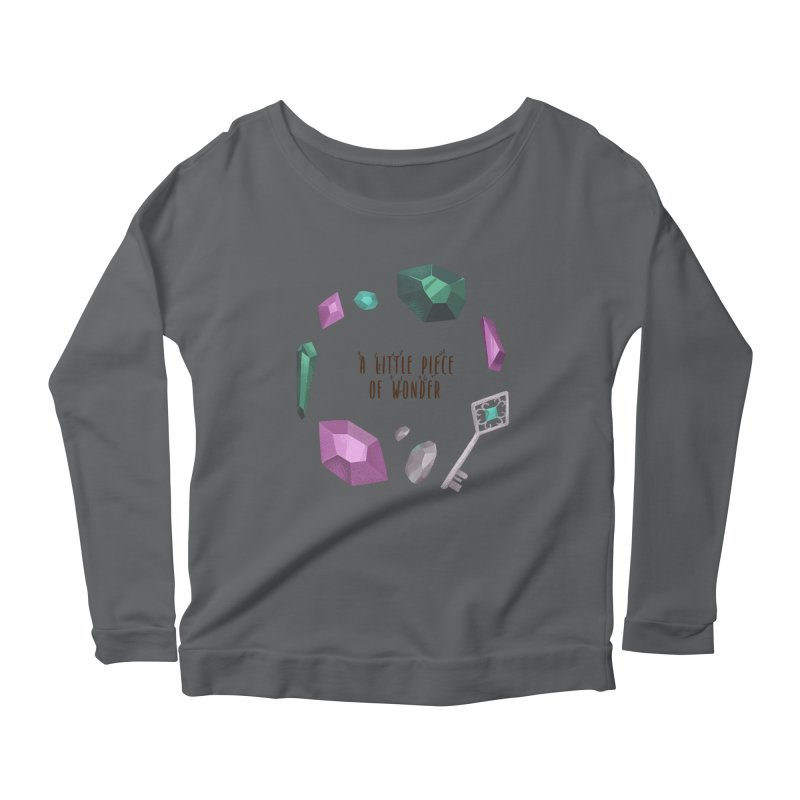 A Little Piece Of Wonder Women's Scoop Neck Longsleeve T-Shirt by Mountain View Co