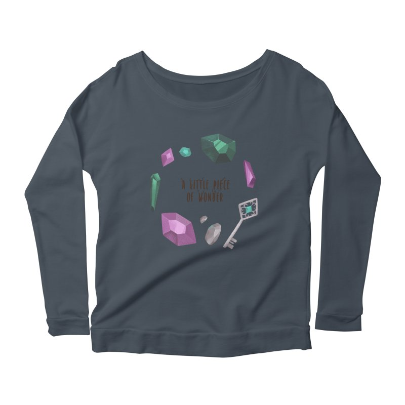 A Little Piece Of Wonder Women's Scoop Neck Longsleeve T-Shirt by Mountain View Co
