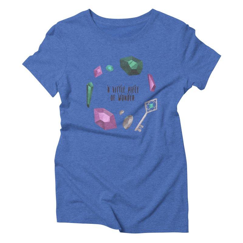 A Little Piece Of Wonder Women's Triblend T-Shirt by Mountain View Co
