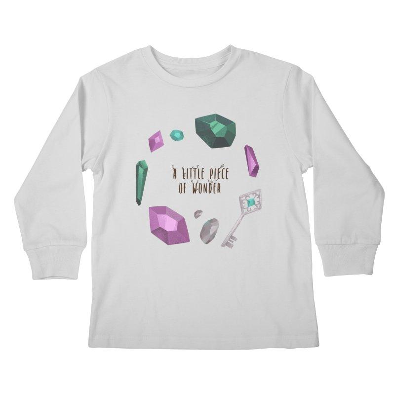 A Little Piece Of Wonder Kids Longsleeve T-Shirt by Mountain View Co