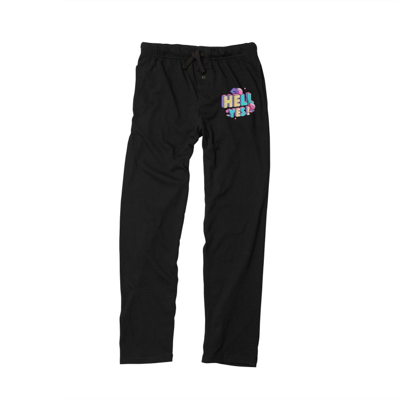 Hell Yes Men's Lounge Pants by Mountain View Co