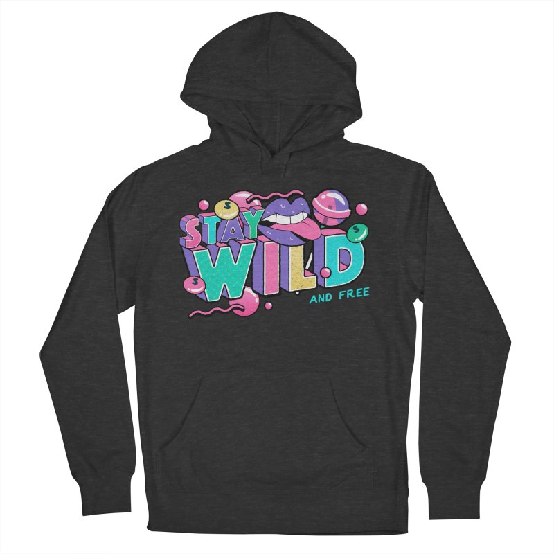 Stay Wild Women's French Terry Pullover Hoody by Mountain View Co