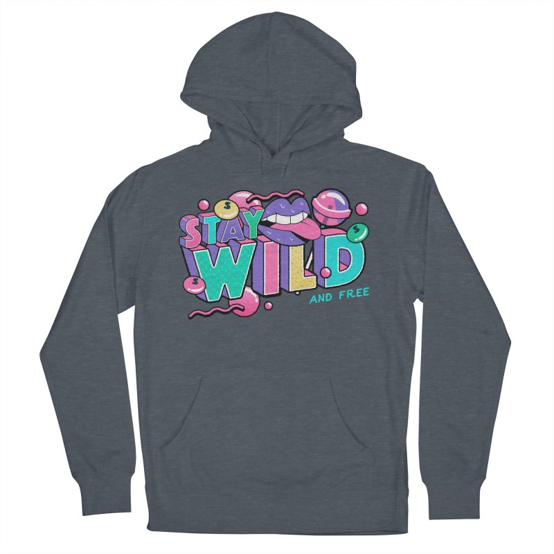 Stay Wild Men's French Terry Pullover Hoody by Mountain View Co