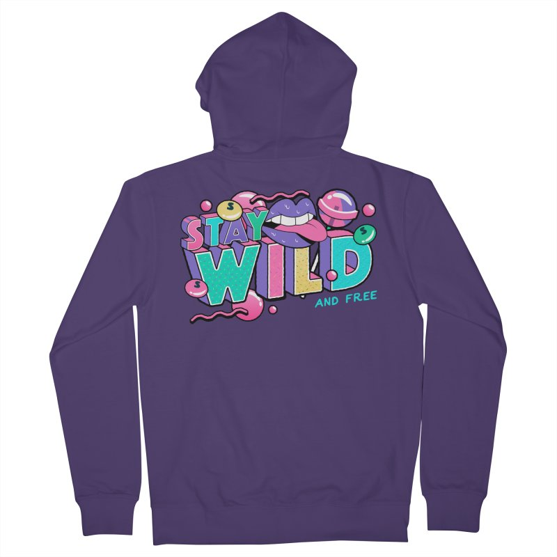 Stay Wild Women's French Terry Zip-Up Hoody by Mountain View Co