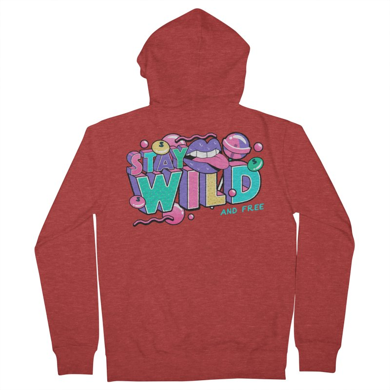 Stay Wild Men's French Terry Zip-Up Hoody by Mountain View Co