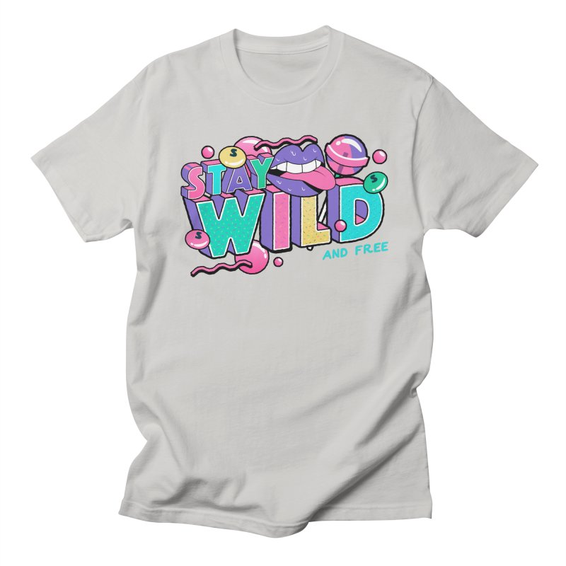 Stay Wild Men's Regular T-Shirt by Mountain View Co