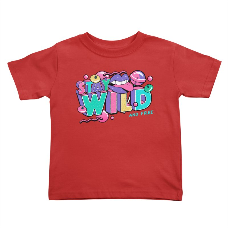 Stay Wild Kids Toddler T-Shirt by Mountain View Co