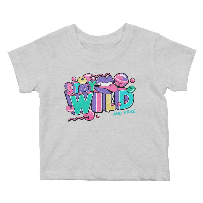 Stay Wild Kids Baby T-Shirt by Mountain View Co