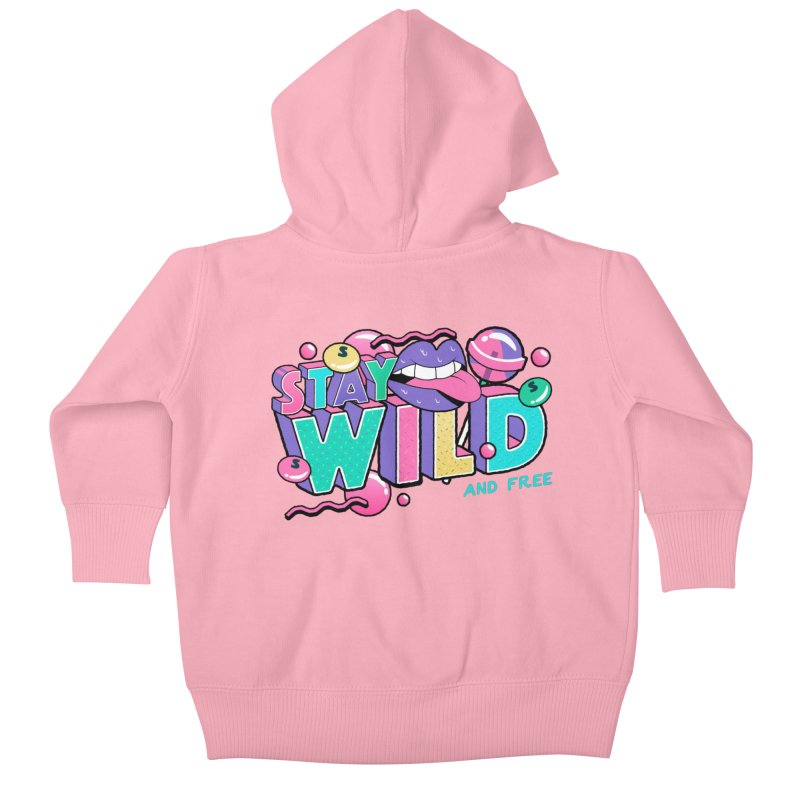 Stay Wild Kids Baby Zip-Up Hoody by Mountain View Co