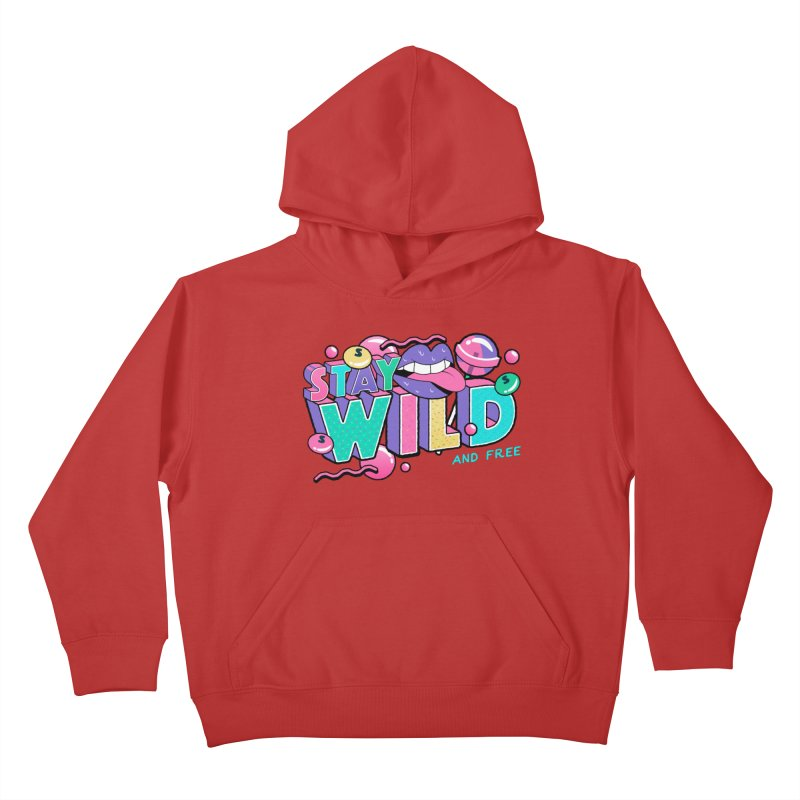 Stay Wild Kids Pullover Hoody by Mountain View Co