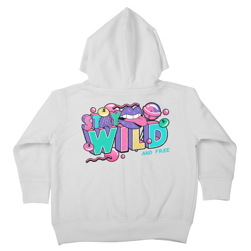 Stay Wild Kids Toddler Zip-Up Hoody by Mountain View Co