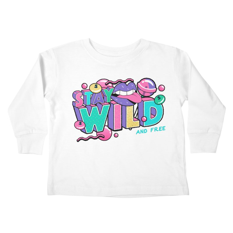 Stay Wild Kids Toddler Longsleeve T-Shirt by Mountain View Co