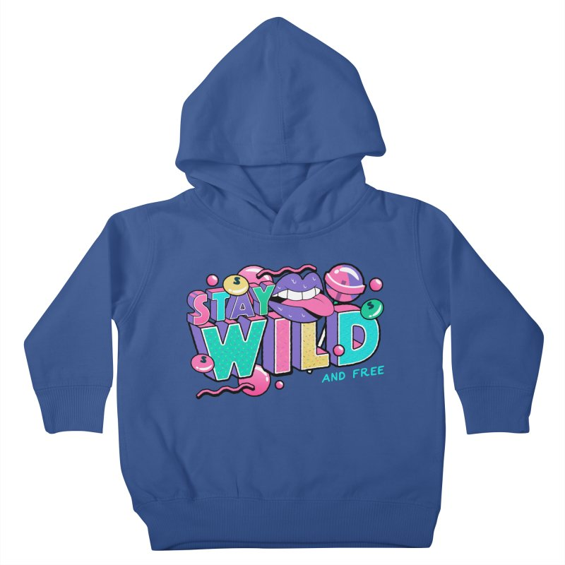 Stay Wild Kids Toddler Pullover Hoody by Mountain View Co