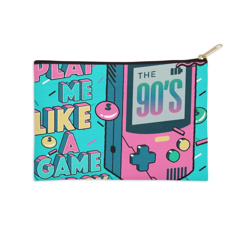 Play Me Like A Game Boy (Threadless Exclusive) Accessories Zip Pouch by Mountain View Co
