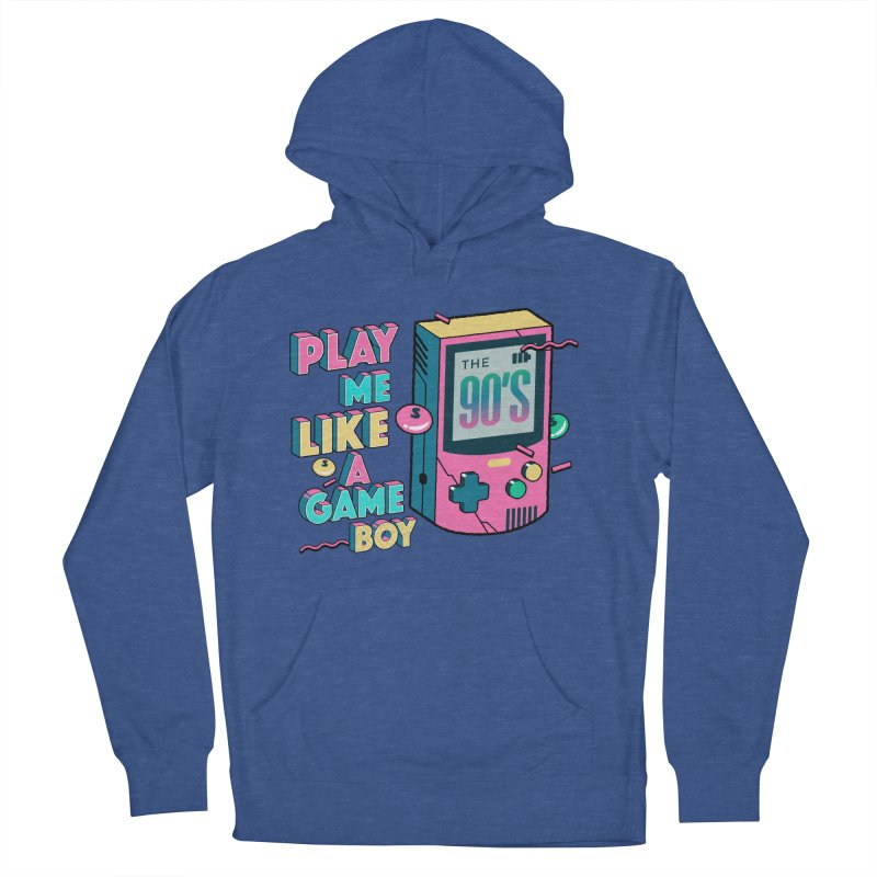 Play Me Like A Game Boy (Threadless Exclusive) Women's French Terry Pullover Hoody by Mountain View Co