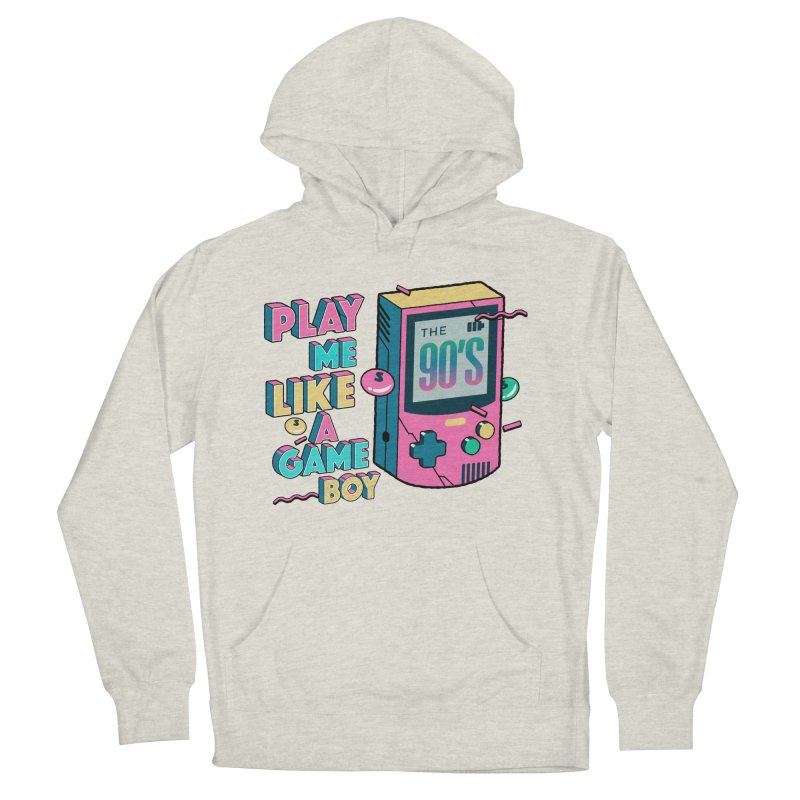 Play Me Like A Game Boy (Threadless Exclusive) Men's French Terry Pullover Hoody by Mountain View Co