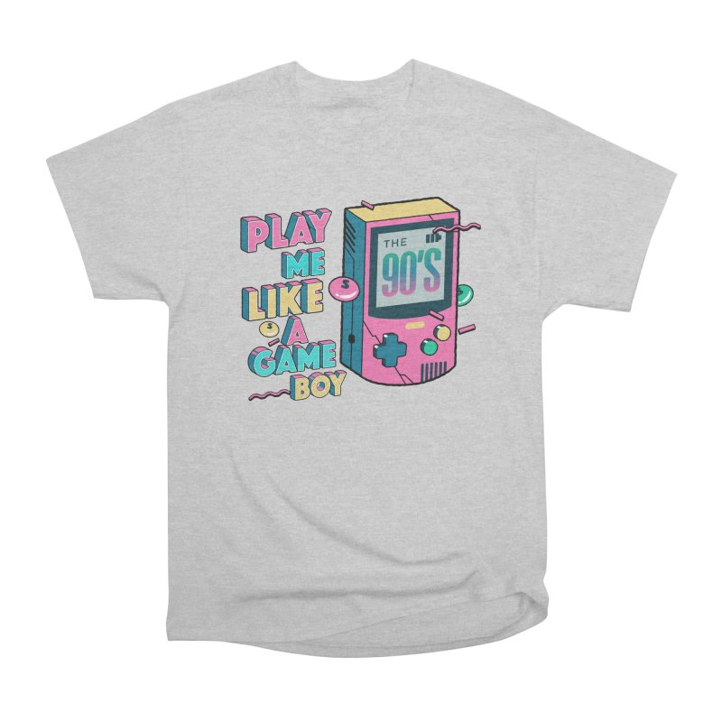 Play Me Like A Game Boy (Threadless Exclusive) Women's Heavyweight Unisex T-Shirt by Mountain View Co