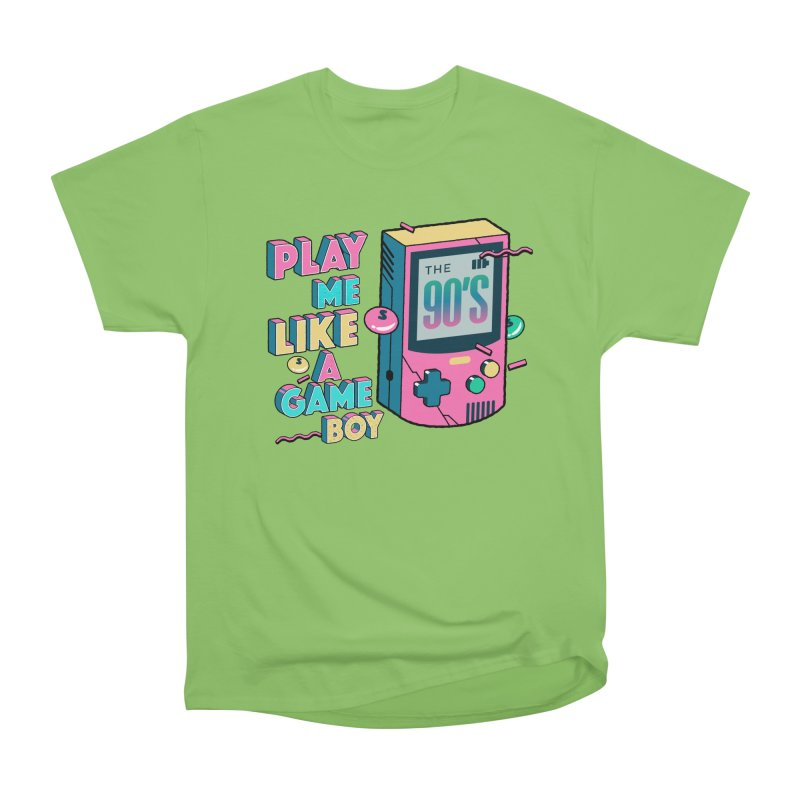 Play Me Like A Game Boy (Threadless Exclusive) Men's Heavyweight T-Shirt by Mountain View Co