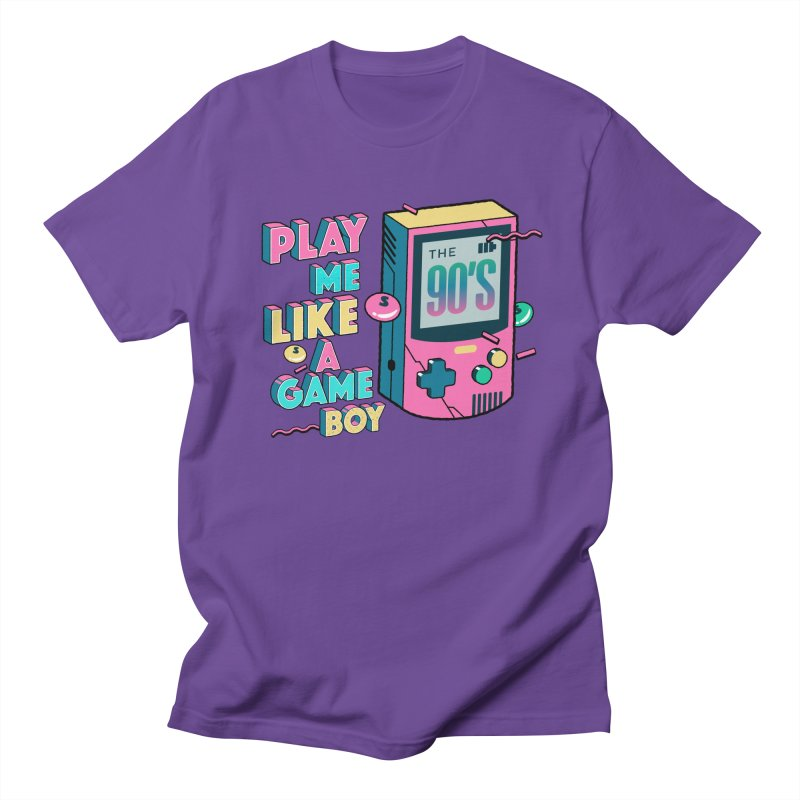 Play Me Like A Game Boy (Threadless Exclusive) Men's Regular T-Shirt by Mountain View Co