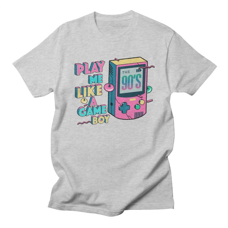 Play Me Like A Game Boy (Threadless Exclusive) Women's Regular Unisex T-Shirt by Mountain View Co