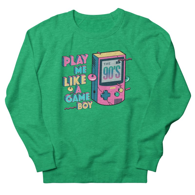 Play Me Like A Game Boy (Threadless Exclusive) Men's French Terry Sweatshirt by Mountain View Co