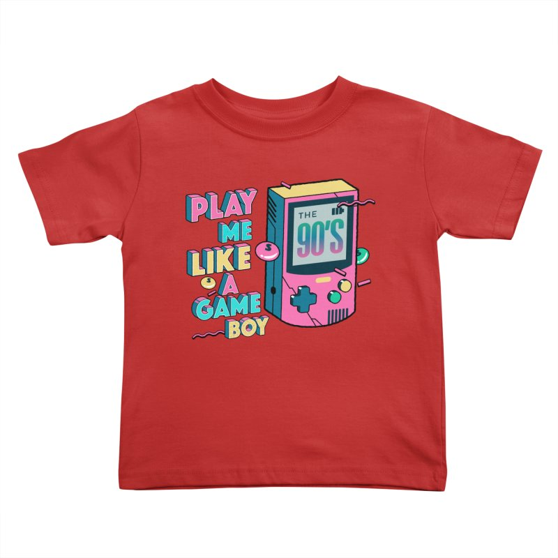 Play Me Like A Game Boy (Threadless Exclusive) Kids Toddler T-Shirt by Mountain View Co