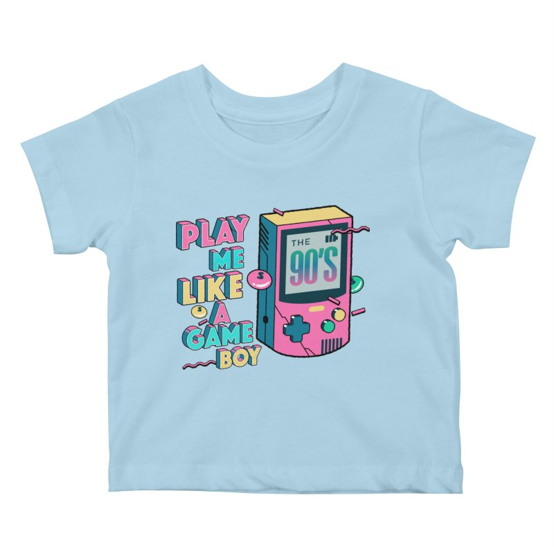 Play Me Like A Game Boy (Threadless Exclusive) Kids Baby T-Shirt by Mountain View Co