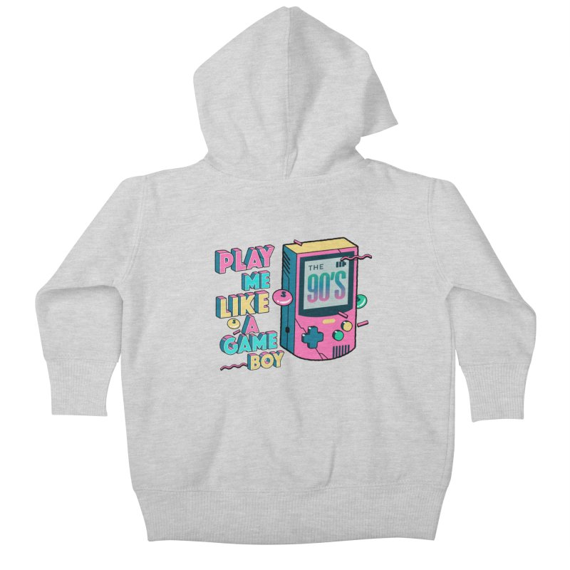 Play Me Like A Game Boy (Threadless Exclusive) Kids Baby Zip-Up Hoody by Mountain View Co
