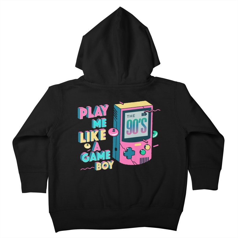 Play Me Like A Game Boy (Threadless Exclusive) Kids Toddler Zip-Up Hoody by Mountain View Co