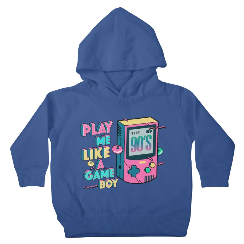 Play Me Like A Game Boy (Threadless Exclusive) Kids Toddler Pullover Hoody by Mountain View Co
