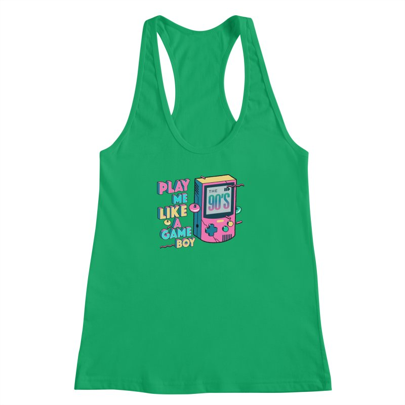 Play Me Like A Game Boy (Threadless Exclusive) Women's Racerback Tank by Mountain View Co