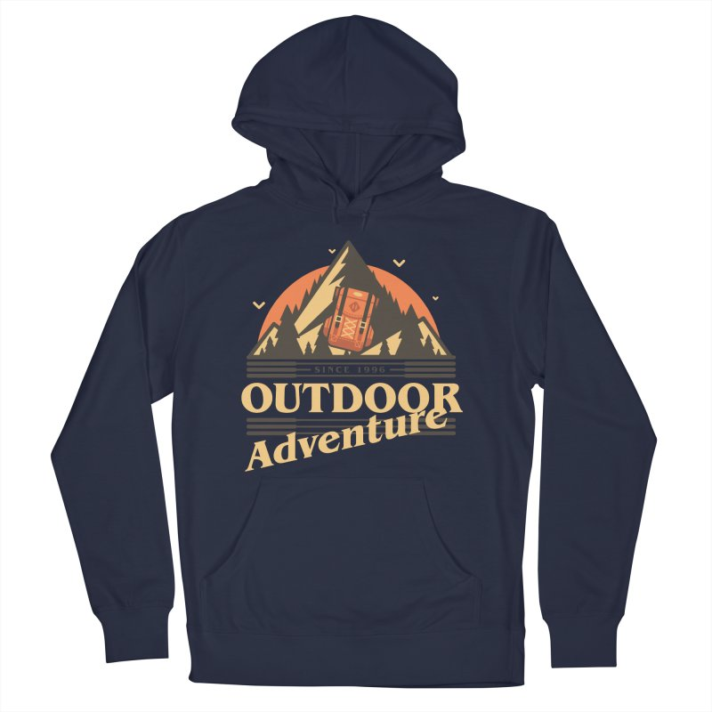 Outdoor Adventure Men's French Terry Pullover Hoody by Mountain View Co