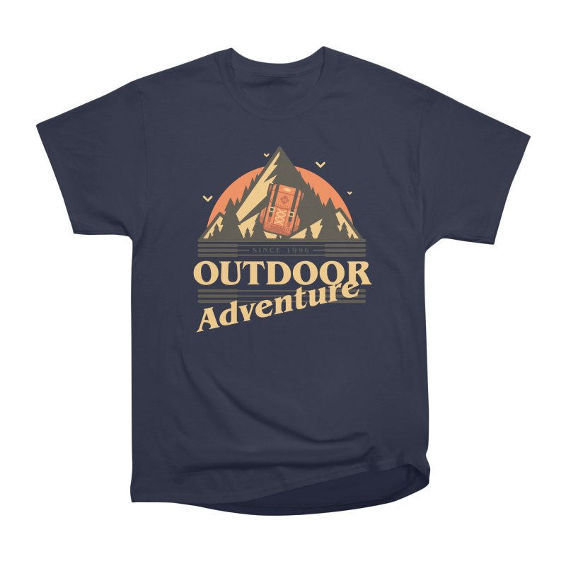 Outdoor Adventure Women's Heavyweight Unisex T-Shirt by Mountain View Co