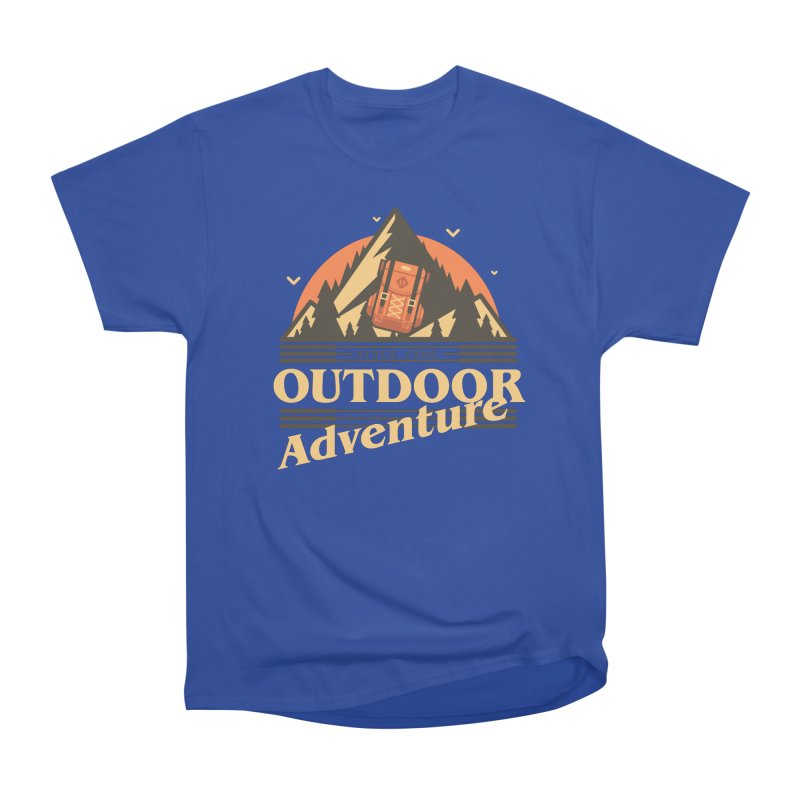 Outdoor Adventure Men's Heavyweight T-Shirt by Mountain View Co