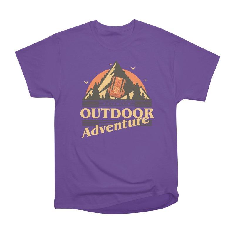 Outdoor Adventure Men's Heavyweight T-Shirt by Mountain View Co