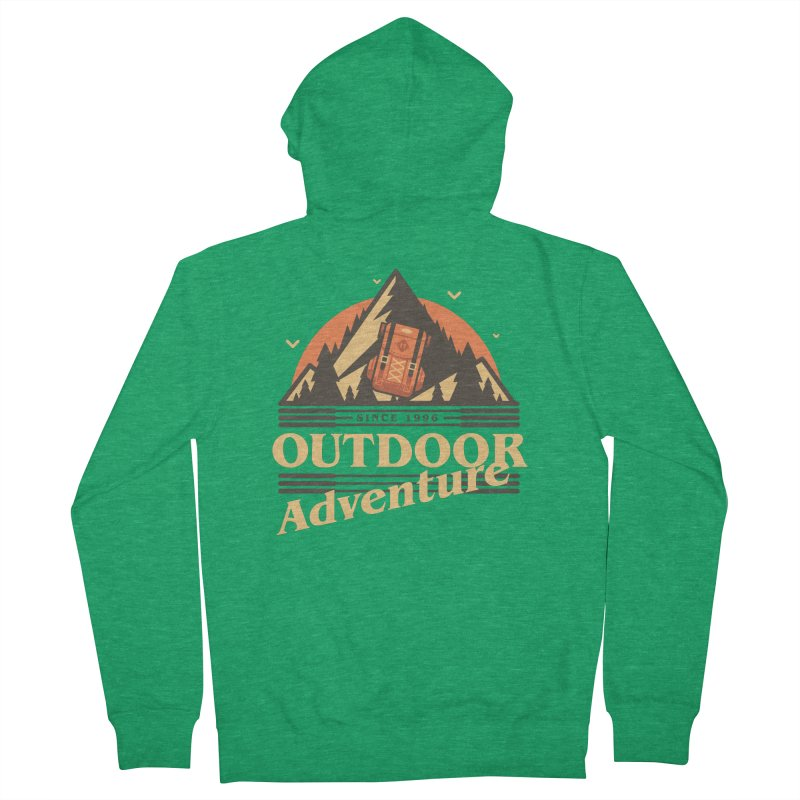 Outdoor Adventure Women's French Terry Zip-Up Hoody by Mountain View Co