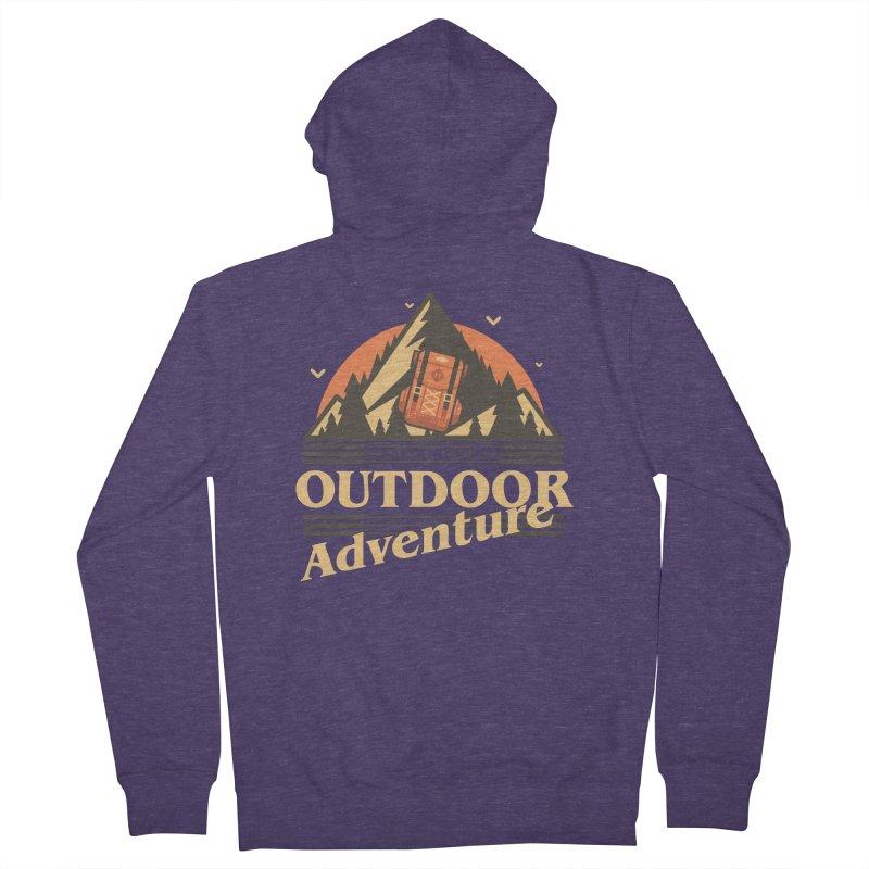 Outdoor Adventure Men's French Terry Zip-Up Hoody by Mountain View Co