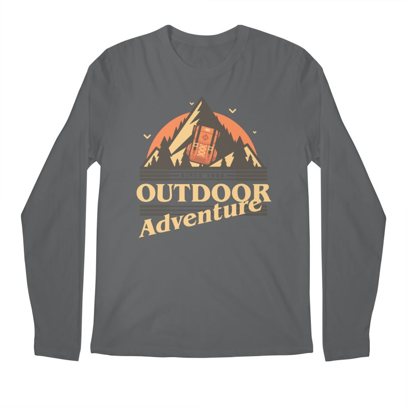 Outdoor Adventure Men's Regular Longsleeve T-Shirt by Mountain View Co