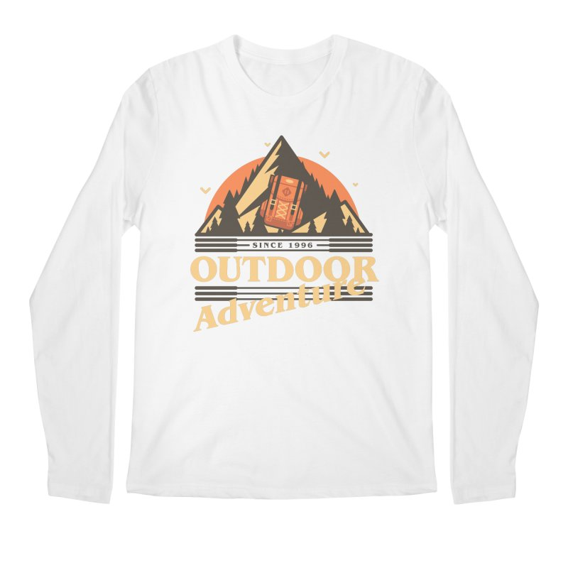 Outdoor Adventure Men's Regular Longsleeve T-Shirt by Mountain View Co