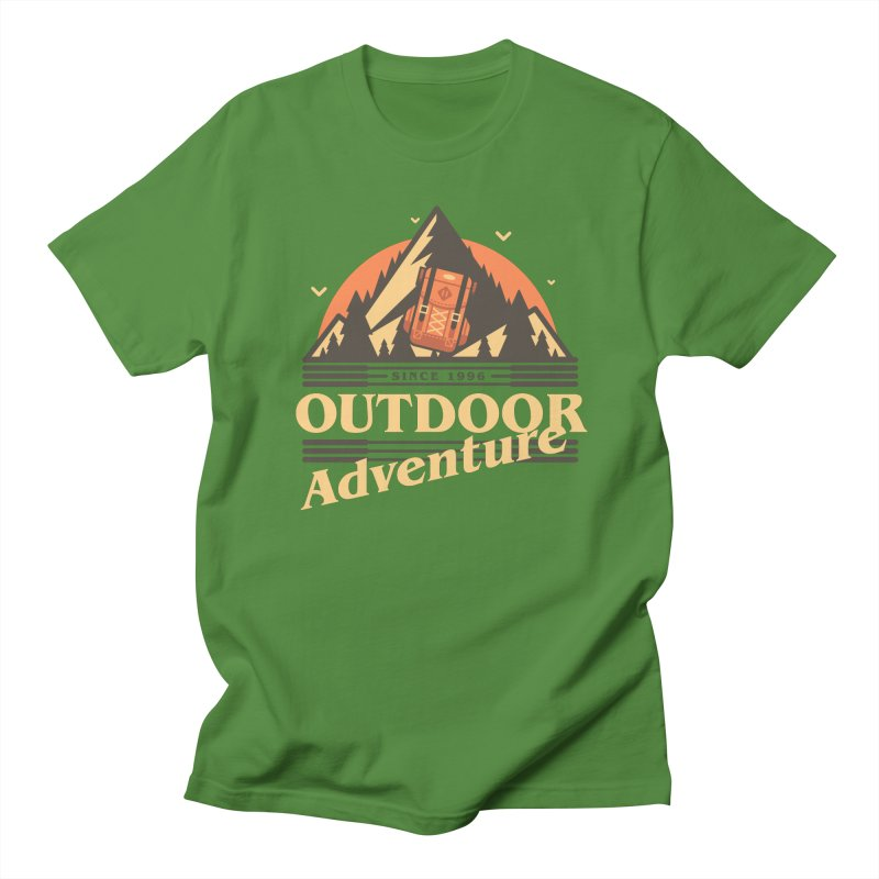 Outdoor Adventure Women's Regular Unisex T-Shirt by Mountain View Co
