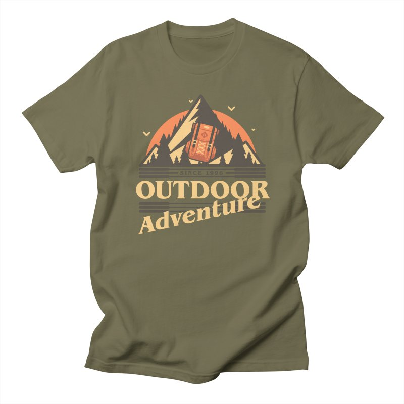 Outdoor Adventure Men's Regular T-Shirt by Mountain View Co