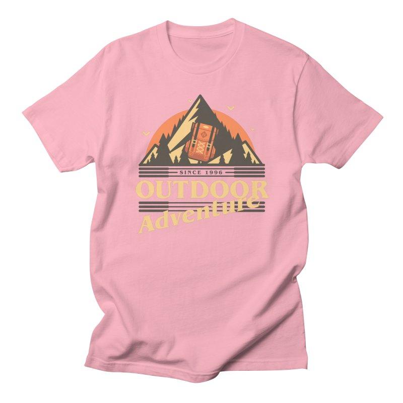 Outdoor Adventure Men's Regular T-Shirt by Mountain View Co