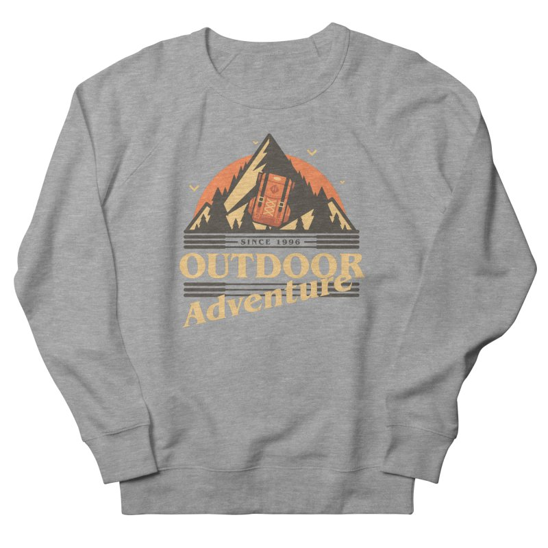 Outdoor Adventure Women's French Terry Sweatshirt by Mountain View Co