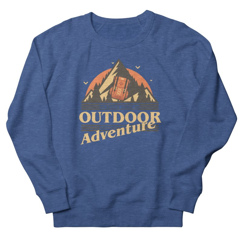 Outdoor Adventure Men's French Terry Sweatshirt by Mountain View Co