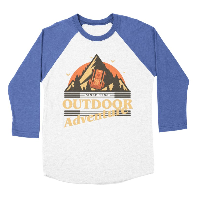 Outdoor Adventure Women's Baseball Triblend Longsleeve T-Shirt by Mountain View Co
