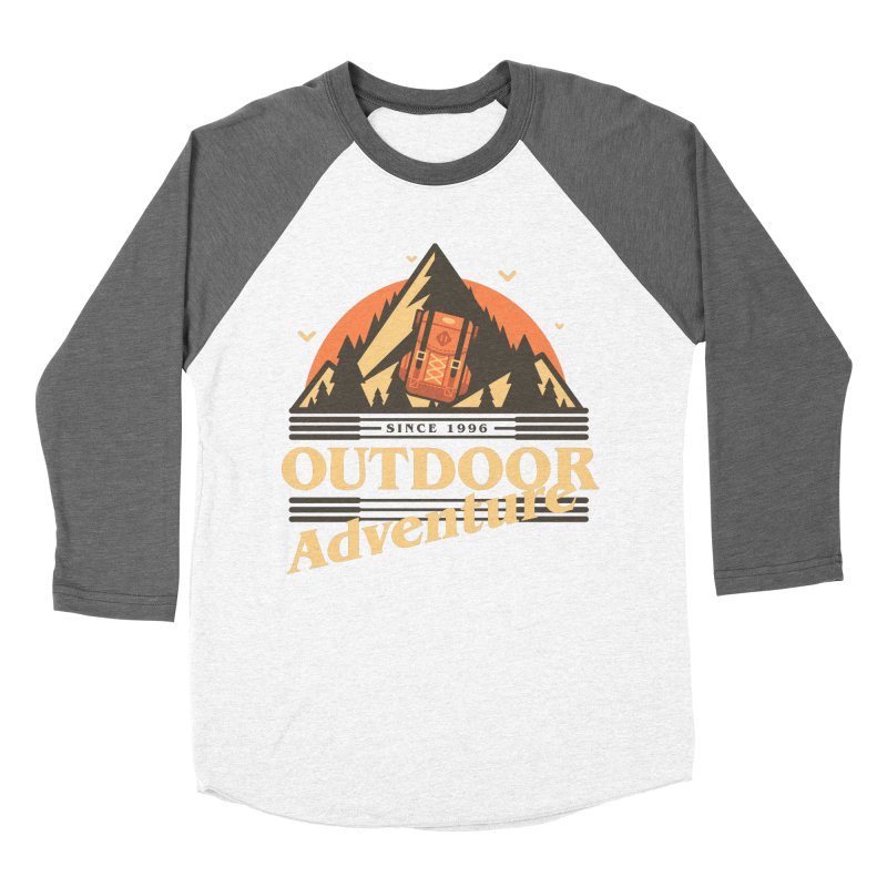 Outdoor Adventure Women's Baseball Triblend Longsleeve T-Shirt by Mountain View Co