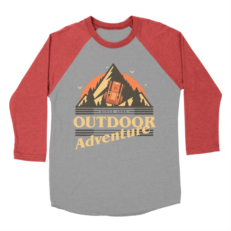 Outdoor Adventure Men's Baseball Triblend Longsleeve T-Shirt by Mountain View Co